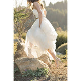 Country Style Sweetheart Tulle A Line Wedding Dress With Gold Belt Wedding Dress Bride Dresses Vestido De Casamento - Shopatronics - One Stop Shop. Find the Best Selling Products Online Today