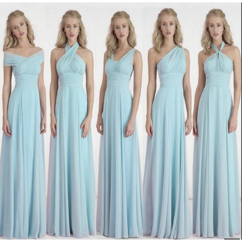 Custom Color&Size!New Chiffon Variety to wear Convertible Dress long bridesmaid dresses wedding dress Prom party dress women - Shopatronics - One Stop Shop. Find the Best Selling Products Online Today