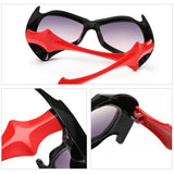 Cute Bats Sunglasses Girl Boy Multicolor Frame UV400 Goggle Sun Glasses Children Cool Fashion Eyewear Kids 2016 Oculos infantil - Shopatronics
