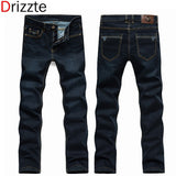 Drizzte Spring Summer Full Long Men's Jeans Brand 28 to Size 42 Black Blue Slim Fit Tall Men Jean for Man Stretch Pants Jean - Shopatronics - One Stop Shop. Find the Best Selling Products Online Today