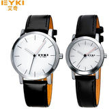 EYKI original brand sports watch men leather strap fashion casual wrist watch for women and men analog quartz-watch montre homme - Shopatronics - One Stop Shop. Find the Best Selling Products Online Today
