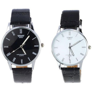 Quartz Men Watches Fashion & Casual Luxury Leather Watch Elegant Sports Out Door Wristwatch - Shopatronics