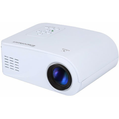 Excelvan X6 Mini Portable Projector 120Lumens Support 1080P With HDMI / USB / AV / VGA / SD Interface 360 Degree Flip Beamer - Shopatronics