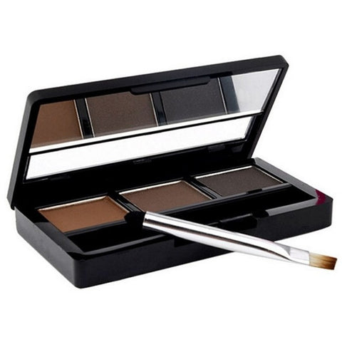Eye Brow Makeup Kit Set 3 Color Waterproof Eye Shadow Eyebrow Powder Make Up Palette Women Beauty Cosmetic - Shopatronics - One Stop Shop. Find the Best Selling Products Online Today