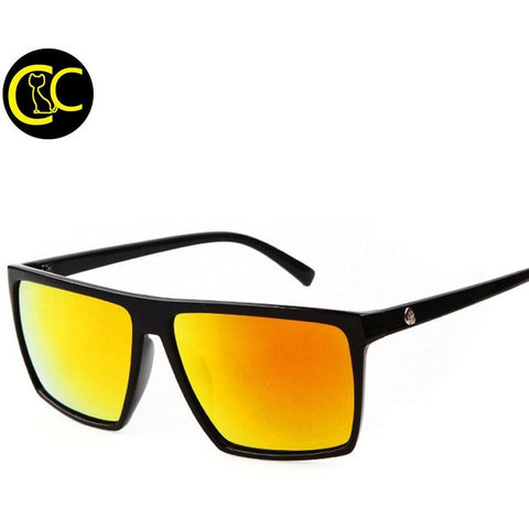 Men Brand Designer Mirror Photochromic Sport Oversized Sunglasses - Shopatronics