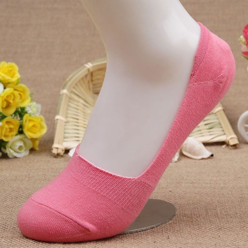 Free Shipping 20pcs=10 pairs/lot  Bamboo Fiber cotton Anti-Slip female ankle socks Summer invisible boat socks women anti slip - Shopatronics