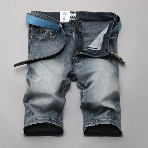 2016 mens short jeans pants casual trousers fashion designer light gray men's jeans fitness shorts 866 - Shopatronics - One Stop Shop. Find the Best Selling Products Online Today