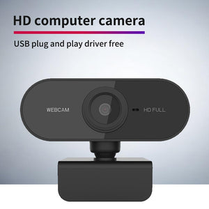 1080P 720p 480p HD Webcam with Mic Rotatable PC Desktop Web Camera Mini Webcam
