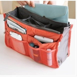 HOT Sale ! 13 Colors Make up organizer bag Women Men Casual travel bag multi functional Cosmetic Bag storage bag in bag Handbag - Shopatronics