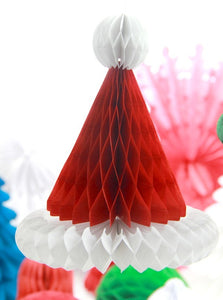 3pcs Christmas Honeycomb Santa Hats Paper Santa Claus Hats [BUY 1 GET 1 FREE + FREE SHIPPING] - Shopatronics - One Stop Shop. Find the Best Selling Products Online Today