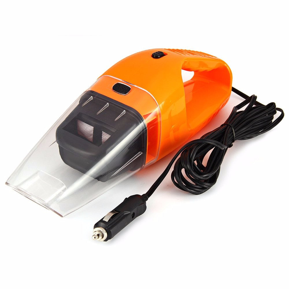 NEW Portable Car Vacuum Cleaner Wet and Dry Super Suction 120W Car Vacuum Cleaner - Shopatronics