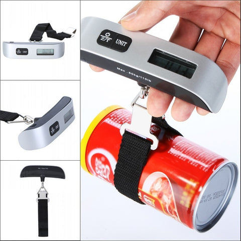 Free Shipping Luggage Scale - Best Electronic Portable, Compact, Lightweight Gadget for Suitcase Weighing - Easy to Read - Shopatronics - One Stop Shop. Find the Best Selling Products Online Today