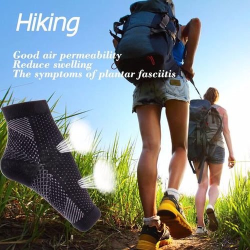 Foot Sleeve Plantar Fasciitis Compression Sleeve Socks - Shopatronics
