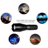 Ultra Bright LED Tactical Flashlight Outdoor Zoomable Adjustable Focus Camping Torch 5 Modes Lantern Linterna - Shopatronics - One Stop Shop. Find the Best Selling Products Online Today