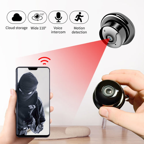 1080P Wireless Mini WiFi Camera Home Security Camera IP CCTV Surveillance IR Night Vision Motion Detect Baby Monitor