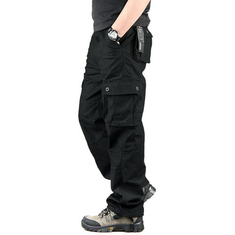 High Quality Men Cargo Pants Casual Mens Pant Multi Pocket Military Overall Mens Long Trousers Plus size 30-44 - Shopatronics - One Stop Shop. Find the Best Selling Products Online Today