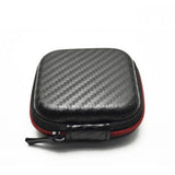 High Quality Travel Portable Cable Earphone Headphone Bag Carry Storage Box Earbud Hard Case - Shopatronics