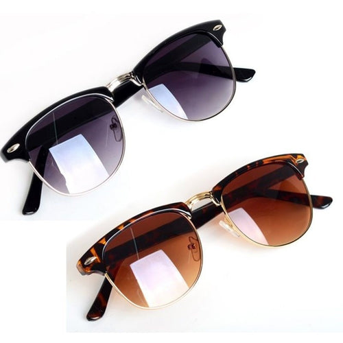 Hot 2016 Fashion Eyewear Classic Retro Unisex Sunglasses Women Brand Designer Men Sun Glasses 2 Colors oculos de sol feminino - Shopatronics