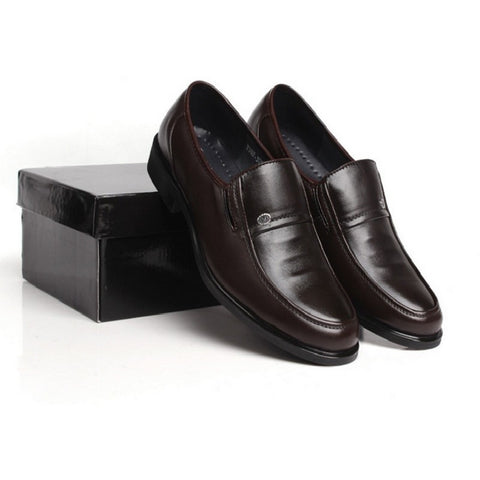 Hot Sale 2016 Fashion Men Dress Shoes Round artificial Leather Men Business Shoes Black/Brown Plus Size Men Office Shoes - Shopatronics - One Stop Shop. Find the Best Selling Products Online Today