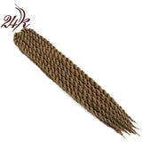 Hot Sell Havana Mambo Twist Crochet Braids Hair 22 Inch Senegalese Synthetic Crochet Twist Jumbo Braiding Hair Extensions - Shopatronics
