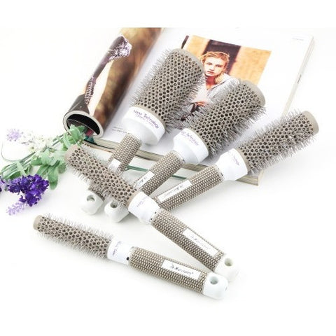 Hot Selling 5 Sizes Durable Ceramic Iron Round Comb Hair Dressing Brush Salon Styling Barrel - Shopatronics - One Stop Shop. Find the Best Selling Products Online Today