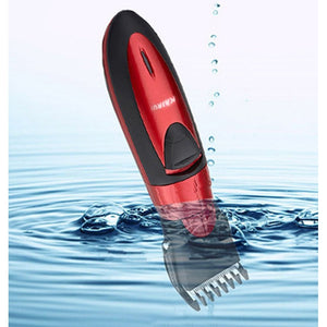 Hot sales Waterproof electric hair clipper razor, child baby men electric shaver hair trimmer  cutting machine to haircut hair - Shopatronics