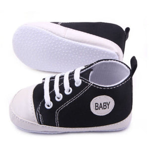 Infant Newborn Baby Boy Girl Kid Soft Sole Shoes Sneaker Newborn 0-12 Months - Shopatronics