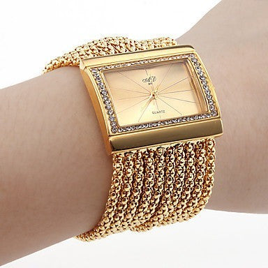 Luxury 2016 NEW Chain Bracelet Watch Ladies Women Quartz Wristwatch Fashion Gift - Shopatronics