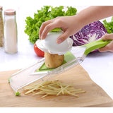 Mandoline Slicer Vegetables Cutter with 4 Stainless Steel Blade Carrot Grater Onion Dicer Slicer Kitchen Accessories - Shopatronics