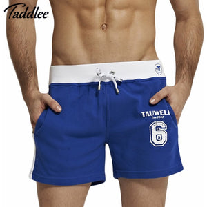 Men Sport Shorts Men's Loose Short Trousers Casual Calf-Length Jogger Mens Shorts Sweatpants Fitness Gym Workout Cotton Shorts - Shopatronics
