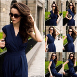 New 2016 Jumpsuit women's overall sexy fashion waist jumpsuit pants overalls 3 colors XXXL plus size - Shopatronics