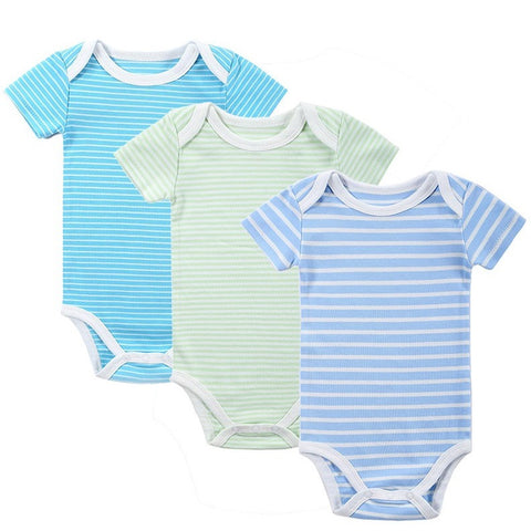 New 3PCS Baby Boy Rompers Baby Clothing Set Summer Cotton Baby Girl Boy Short Sleeve Car Printed Jumpsuit Newborn Baby Clothes - Shopatronics - One Stop Shop. Find the Best Selling Products Online Today