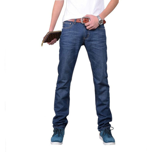 New Arrival Mens Designer Jeans Luxury Classic Slim Fit Casual Jeans Pant Men Fashion Straight Denim Biker Jeans Men Pants - Shopatronics