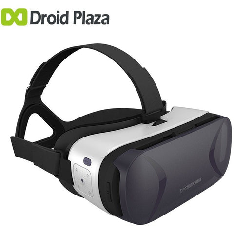 New Baofeng Mojing 5 3D Virtual Reality Glasses VR Box with Sensor Chip & Touch Panel Gear Cardboard VR for Samsung Smartphone - Shopatronics