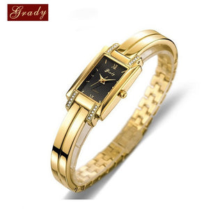 New Brand Grady fashion 18k Gold-plated women watches 3atm waterproof ladies Quartz Watch Women Wristwatches - Shopatronics - One Stop Shop. Find the Best Selling Products Online Today