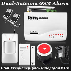 New Wireless/wired GSM Voice Home Security Burglar Android IOS Alarm System Auto Dialing Dialer SMS Call Remote control setting - Shopatronics
