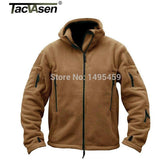 Outdoor Sports Military Fleece Warm Men Tactical Jacket Thermal Breathable Hooded men Jacket Coat Outerwear TD-YCIDL-001 - Shopatronics