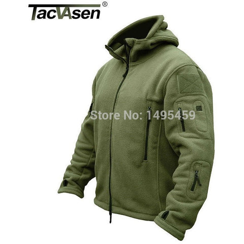 Outdoor Sports Military Fleece Warm Men Tactical Jacket Thermal Breathable Hooded men Jacket Coat Outerwear TD-YCIDL-001 - Shopatronics - One Stop Shop. Find the Best Selling Products Online Today