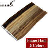 "Piano Color Remy Tape In Hair Extensions On Tape Weft Hair Straight 20pcs Invisable Tape Hair 22"" Seamless Skin Weft Hair - Shopatronics - One Stop Shop. Find the Best Selling Products Online Today"
