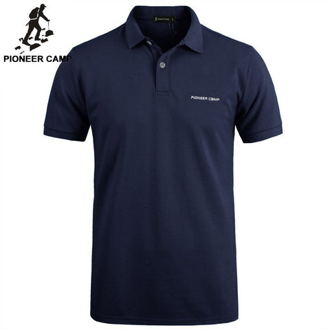 Pionner Camp Brand 2016 New Men Polo Shirt Men 's Business & Casual solid polo shirt Short Sleeve breathable golf polo shirts t - Shopatronics