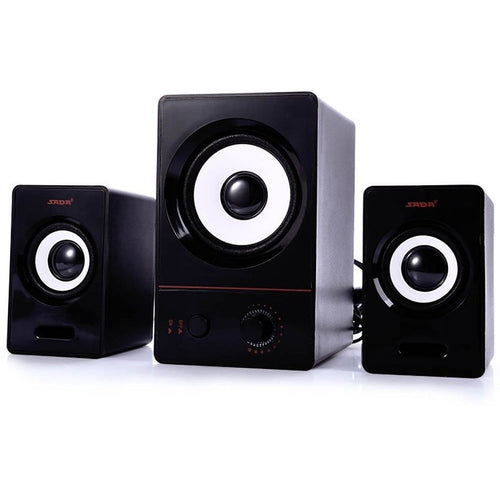 SADA D - 200D High-fidelity Multimedia Large Diameter High Efficiency Low Distortion Laptop Computer Speaker Support AUX Input - Shopatronics