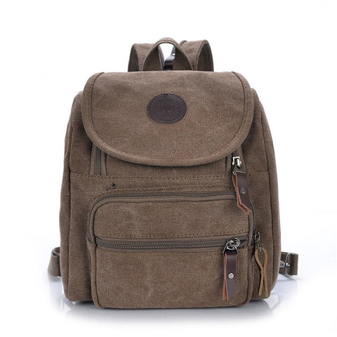 Backpack canvas casual school bags teenage school bags - Shopatronics - One Stop Shop. Find the Best Selling Products Online Today