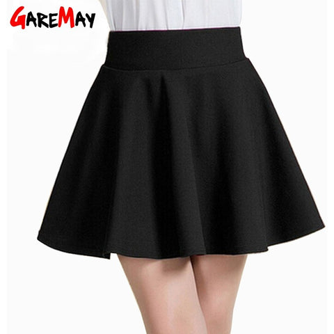 Summer Short Skirt  for Women 2016  All Fit Tutu School Skirt  White  Back Color Women Clothing Short Skirts Faldas Ball Gown - Shopatronics