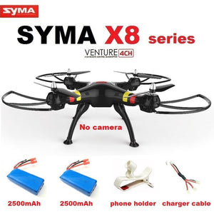 Syma X8C X8W X8 6-Axis RC Quadcopter Without camera Professional Drone Compatible With Gopro/SJCAM/Xiaoyi/EKEN Action Camera - Shopatronics
