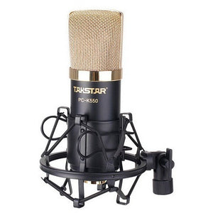 Takstar pc-k550 condenser microphone professional recording equipment computer recording microphone simple edition - Shopatronics