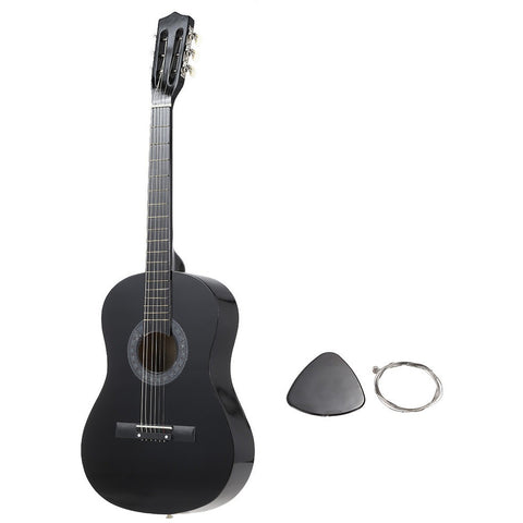 "Top Quality 6-String Folk Acoustic Guitar Guitarra Durable Basswood 38"" Guitar for Beginners Music Lovers Great Gloss Finish - Shopatronics - One Stop Shop. Find the Best Selling Products Online Today"