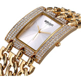 WEIQIN Luxury Crystal Diamond Gold Bracelet Watches Women Ladies Fashion Bangle Dress Watch Woman Clock Hour Relogio Feminino - Shopatronics - One Stop Shop. Find the Best Selling Products Online Today