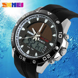 Watches Men Waterproof Solar Power Sports Casual Watch Man Men's Wristwatches 2 Time Zone Digital Quartz LED Clock Men - Shopatronics - One Stop Shop. Find the Best Selling Products Online Today