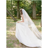 Wedding Bridal 3 Meters Long One Layer Veil With Comb Ivory/White Elegant  Wedding Accessories Velos De Novia voile de mariee - Shopatronics