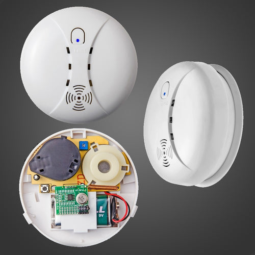 Wireless Smoke/fire Detector smoke alarm for Wireless For Touch Keypad Panel wifi GSM Home Security System without battery - Shopatronics
